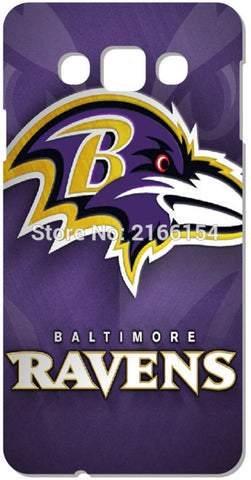 Baltimore Ravens Cell Phone Case For Samsung Galaxy Core G360 G350 A3 A5 A7 A8 A9 E5 E7 J1 J2 J3 J5 J7 Prime 2016 Cover Capa