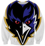 Baltimore Ravens  Crewneck Fashion Clothing Spring Autumn Hoodies Outfits Style Women/Men Streetwear