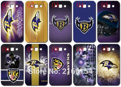 Baltimore Ravens  Painting Plastic Hard Cover For Samsung Galaxy S2 S3 S4 S5 Mini S6 S7 Edge Plus Note 2 3 4 5 Mobile Cell Case