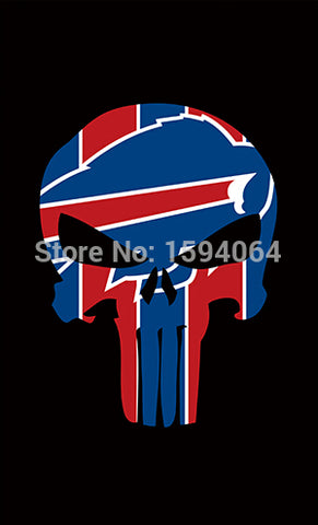 Buffalo Bills flag 100D Polyester Flag metal Grommets 90x150cm Outdoor flag 3x5ft  Free shipping