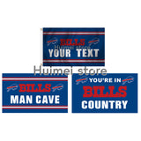 Buffalo Bills flag 90x150cm digital print custom Buffalo Bills flag