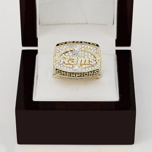 Copper ring 1999 Super Bowl Los Angeles Rams championship ring replica size 10 to 13 drop shipping