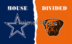 Dallas Cowboys Flag Vs Cleveland Brown Flag Football World Series 3ft X 5ft Cleveland Brown Banner Dallas Cowboys Flags