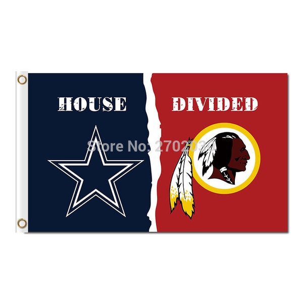 Dallas Cowboys Flag Vs Washington Redskins Flag Football World Series 3ft X 5ft Washington Redskins Banner Dallas Cowboys Flags
