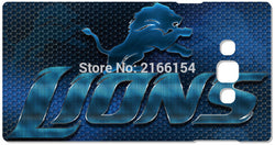 Detroit Lions Hard Cover For Samsung Galaxy Core G360 G350 A3 A5 A7 A8 A9 E5 E7 J1 J2 J3 J5 J7 Prime 2016 Cell Phone Case Capa