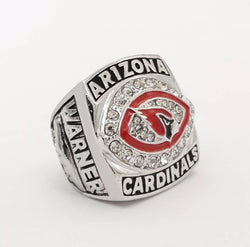 Drop Shipping Good Quality NFC 2008 Arizona Cardinals Major League Zinc Alloy silver plated Custom Sports Replica world Champio