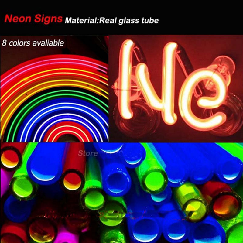 8cca91944a4235 Fashion Neon Sign Chicago Bears Handcrafted Real Glass Lamp Neon Light –  American Football Now