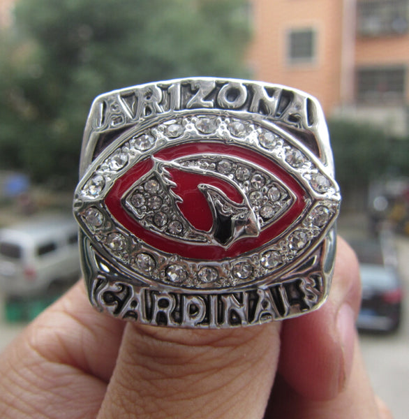 Free Shipping Arizona Cardinals 2008 NFC National Football Championship Ring solid fan gift men sport  wholeslae