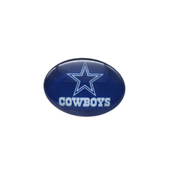Glass Snap Button 18mmX25mm Dallas Cowboys Charms Snaps Bracelet for Women Men Football Fans Gift Paty Birthday Fashion 2017
