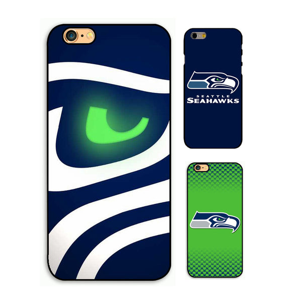 Hot Sale Seattle Seahawks phone hard case for iPhone 4s 5s 5c 6 6s 7Plus 7