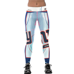 Leggings New Fashion Women Leggings New York Giants ny Print Fitness Legging Casual Streetwear Long Pants Aslgs0082