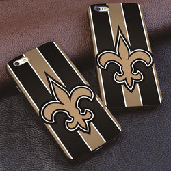 Luxury Brands New Orleans Saints For iphone 4 4s 5 5s 6 6s 7 plus for Samsung s3 s4 s5 s6 s7 Edge luxury Hard plastic phone case