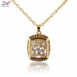 NC4594 Hot Selling Sport Jewelry 1995 Dallas Cowboys Championship Pendants Necklace For Men and Women