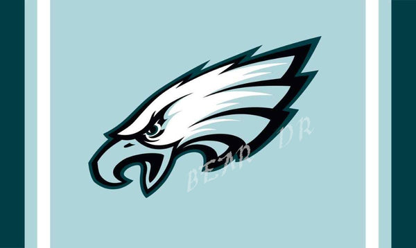 NFL Philadelphia Eagles flag 3ftx5ft Banner 100D Polyester Flag metal Grommets