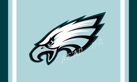 f1a192caf01 NFL Philadelphia Eagles flag 3ftx5ft Banner 100D Polyester Flag metal  Grommets