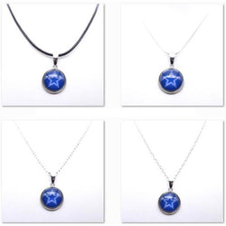 Necklace Pendant Women Necklace Children Necklace for Girl Dallas Cowboys Charms Football Fans Gifts Party Birthday  New 2017