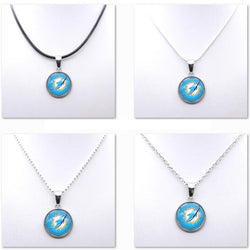 Necklace Pendant Women Necklace Children Necklace for Girl Miami Dolphin Charms Football Fans Gifts Party Birthday New
