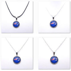 Necklace Pendant Women Necklace Children Necklace for Girl New England Patriots Charms Football Fans Gifts Party Birthday New