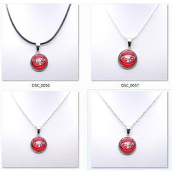Necklace Pendant Women Necklace Children Necklace for Girl San Francisco 49er Charms Football Fans Gifts Party Birthday 2017 New