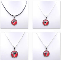 Necklace Women Choker Necklace Pendants for Girl Atlanta Falcons Charms Football Fans Gifts Party Birthday Fashion 2017