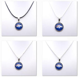 Necklace Women Choker Necklace Pendants for Girl Denver Broncos Charms Football Fans Gifts Party Birthday Fashion 2017