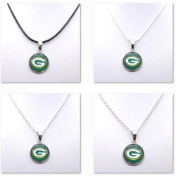 Necklace Women Choker Necklace Pendants for Girl Green Bay Packers Charms Football Fans Gifts Party Birthday Fashion 2017