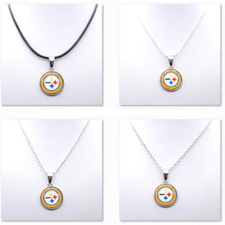 Necklace Women Choker Necklace Pendants for Girl Pittsburgh Steelers Charms Football Fans Gifts Party Birthday Fashion 2017