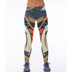 New Autumn Women Legging Jogger Work out Legin Sexy Honeycomb Pencil Pants Denver American Playball  Broncos Team 3D Printed