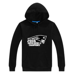 Patriots Super Bowl LI Champions Sweatshirt Hoodie Men Sweashirt Women  New England warm hoodies 2017 0206-3