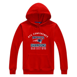 Patriots all AFC National Champions tom brady Men Sweashirt Women (2017 championship)  New England warm hoodies 2017 0123-11