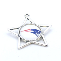 Pendant Accessories New England Patriots Charms Accessories for Bracelet Necklace for Women Men Football Fans Paty Fashion 2017