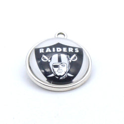 Pendant Accessories Oakland Raiders Charms Accessories for Bracelet Necklace for Women Men Football Fans Paty Fashion 2017