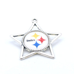 Pendant Accessories Pittsburgh Steelers Charms Accessories for Bracelet Necklace for Women Men Football Fans Paty Fashion 2017