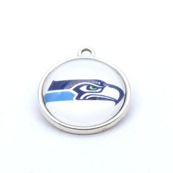 Pendant Accessories  Seattle Seahawks Charms Accessories for Bracelet Necklace for Women Men Football Fans Paty Fashion 2017