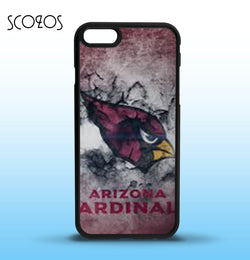 SCOZOS Arizona Cardinals 1 phone case cover for iphone X 8 8 plus 4 4s 5 5s 5c SE 6 6s & 6 plus 6s plus 7 7 plus  #SC40