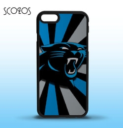 SCOZOS Carolina Panthers phone case cover for iphone X 8 8 plus 4 4s 5 5s 5c SE 6 6s & 6 plus 6s plus 7 7 plus  #SC110