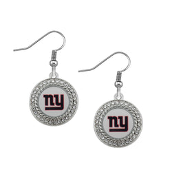 Skyrim Dropshipping jewelry sports New York Giants football series earrings