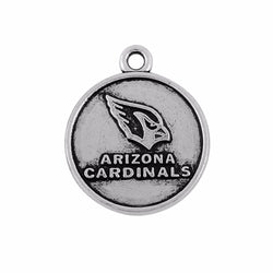 Skyrim Sports Arizona Cardinals jewelry charm 10pcs zinc alloy rhodium silver or Gold-Color material