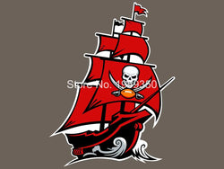 Tampa Bay Buccaneers Flag 3ft x 5ft Polyester  Banner flag  white sleeve with 2 Metal Grommets double stitched