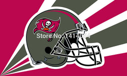 Tampa Bay Buccaneers  Helmet Flag 150X90CM Banner 100D Polyester3x5 FT flag brass grommets 001, free shipping