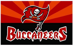 Tampa Bay Buccaneers flag 150x90cm 100D polyester digital printed banner