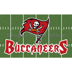 Tampa Bay Buccaneers flag Large 3x5 one side digital printing with stadium flag