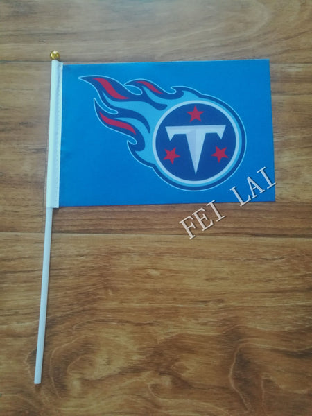 Tennessee Titan flag 21 x 14cm flag hand wave flags Activities party decorations  10 pcs /lot