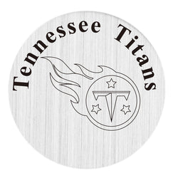 Tennessee Titans 22mm Stainless Steel Floating Locket Plate USA Floating Charms Fit 30mm Living Glass Lockets 20pcs/lot
