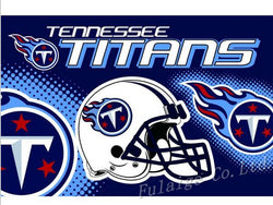 Tennessee Titans Flag 3ft x 5ft Polyester NFL Tennessee Titans Banner Flying Size No.4 150* 90cm
