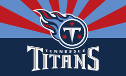 Tennessee Titans Flag Size 3x5ft Large 100D Polyester Flying Flag Banner, free shipping