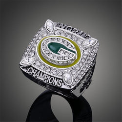 Top Quality Wisconsin Green Bay Packers Super Bowl Rings Elite QB Aaron Rodgers MVP Sports Replica Champ Ring Men J02099