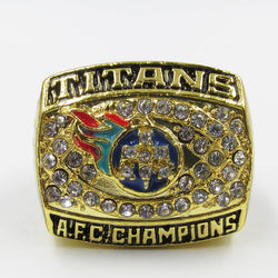 USA size 11 factory wholesale price 1999 AFC Tennessee Titans championship rings replica KEARSE solid ring drop shipping