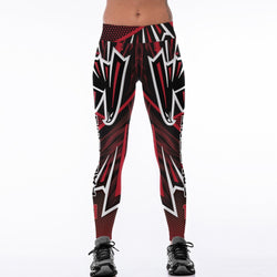 Unisex Atlanta Falcons Fitness Leggings Fiber Elastic Hiphop Party Cheerleader Rooter Workout Pants Logo Trousers Dropshipping