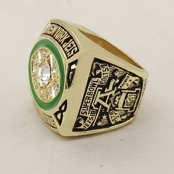 Who Can Beat Our Rings, High Quality 1968 New York Jets Championship Ring For Men's Fashion Jewelry
